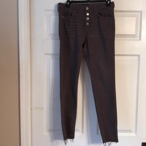 Aeropostale Denim - purple skinny jeans